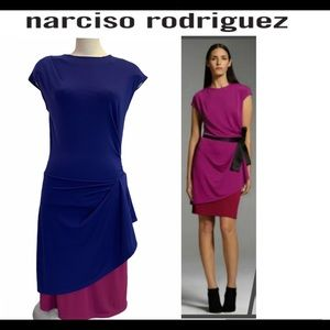 Narciso Rodriguez for design nation purple dress
